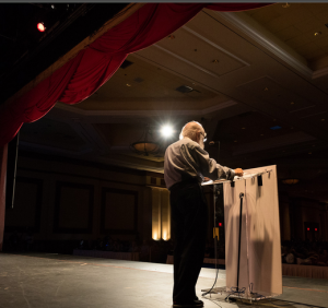 Randi at TAM 2014. Photo Credit Bruce F. Press Photography.